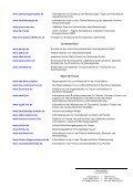 Eine Auswahl von Internetadressen - Seite 2
