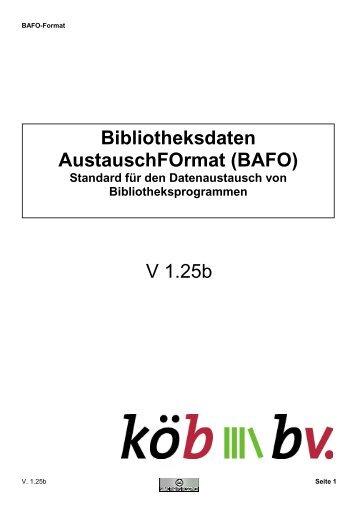 BAFO - Borromäusverein eV