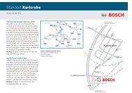 Standort Karlsruhe - Bosch-Career