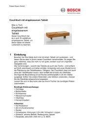 PDF Download - Bosch Elektrowerkzeuge für Heimwerker