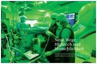 :: Neue Wege, Hightech und Menschlichkeit - Robert Bosch Stiftung