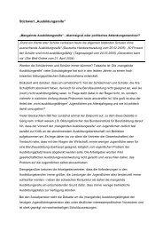 """Stichwort """"Ausbildungsreife"""" - Robert Bosch Stiftung"""