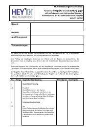 Musterleistungsverzeichnis I - Bostik