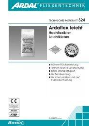 Ardaflex leicht - Bostik