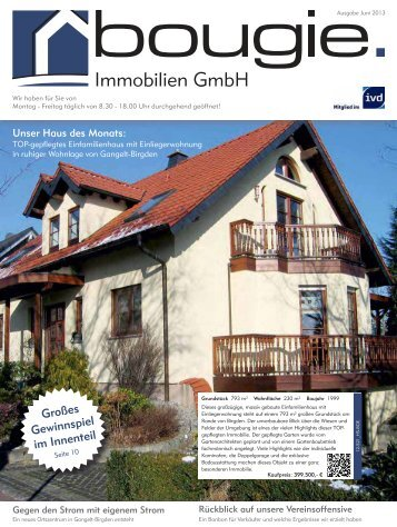 Newsletter Juni 2013 - Bougie