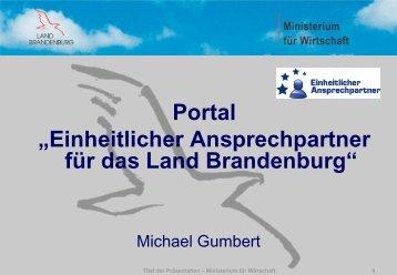 Portal - Brandenburg.de