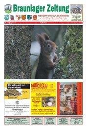 Aktuelle Ausgabe - Braunlager Zeitung
