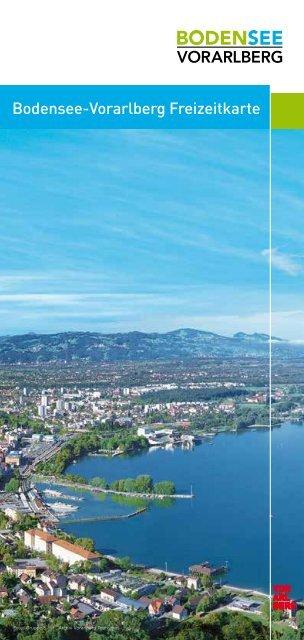 Bodensee-Vorarlberg Freizeitkarte - Bregenz