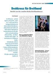Drehkreuz für Breitband: Bericht von der zweiten BREKO ...