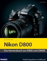 Nikon D800 - Leseprobe - Brenner Foto Versand