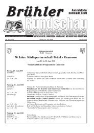 Amtsblatt KW25 2008 - Gemeinde Brühl