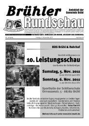 Bruehl 2011 KW44 - Gemeinde Brühl