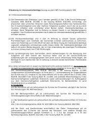Erläuterung der Interessentenbeiträge/Auszug aus dem NÖ ...