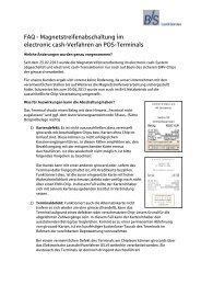 FAQ Magnetstreifenabschaltung - B+S Card Service GmbH