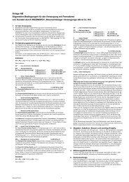 Allgemeine Bedingungen für die Versorgung mit ... - BS Energy