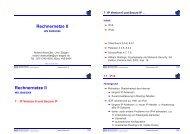 4 auf 1 - Betriebssysteme und verteilte Systeme
