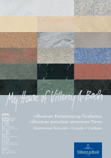 vilbostone Feinsteinzeug-Neuheiten vilbostone porcelain stoneware News