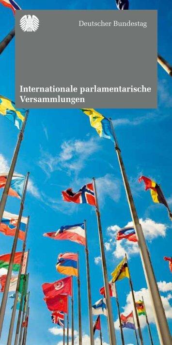 Internationale parlamentarische Versammlungen - Deutscher ...