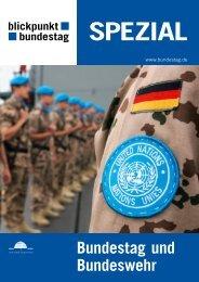 Bundestag und Bundeswehr - Deutscher Bundestag