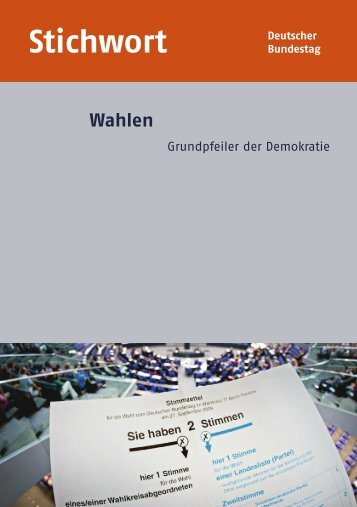 PDF | 1.1 MB - Deutscher Bundestag