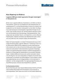 Pressetext EMS plus (pdf) - Buderus