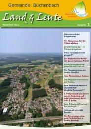 Ausgabe 1 - Gemeinde Büchenbach