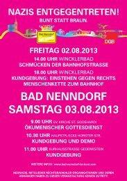 in Bad Nenndorf - Bündnis für Demokratie und Toleranz
