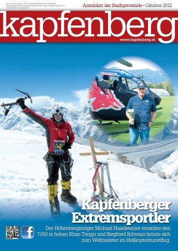 Kapfenberger Extremsportler