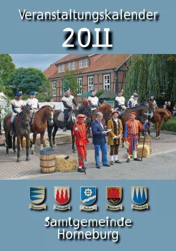 Veranstaltungskalender Samtgemeinde Horneburg - BürgerVerein ...