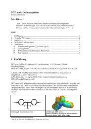 DDT- Nahrungskette