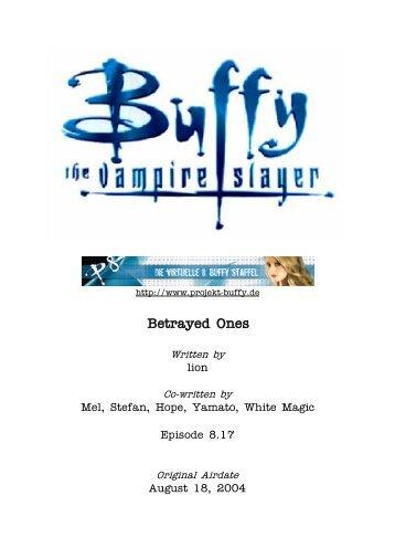 8.17 Betrayed Ones - Buffyuniverse.com