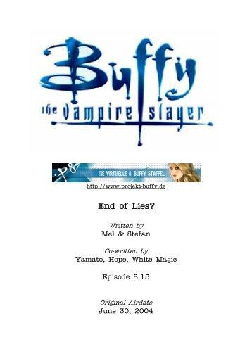 8.15 End of Lies? - Buffyuniverse.com