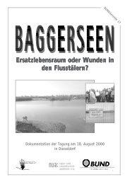 Baggerseen - Bund