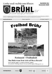 Bruehl gesamt kw 31 - Gemeinde Brühl