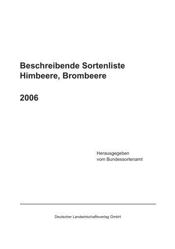 Himbeere, Brombeere - Bundessortenamt