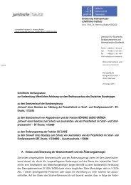 Stellungnahme Prof. Dr. Henning Radtke - Deutscher Bundestag