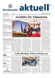 Ausbilder für Afghanistan - Bundeswehr