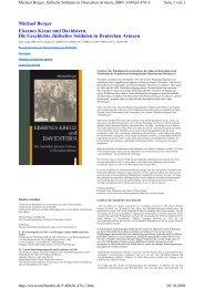 Michael Berger Eisernes Kreuz und Davidstern. Die Geschichte ...