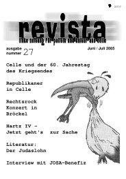 Celle und der 60. Jahrestag des Kriegsendes Republikaner in Celle ...