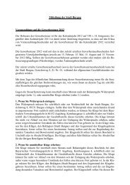 Mitteilung der Stadt Burgau Vorauszahlung auf die Gewerbesteuer ...