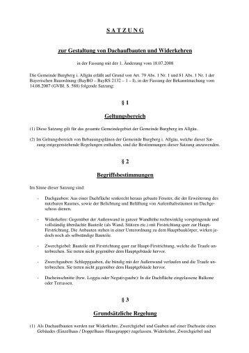 Dachgauben und Widerkehre.pdf - Burgberg