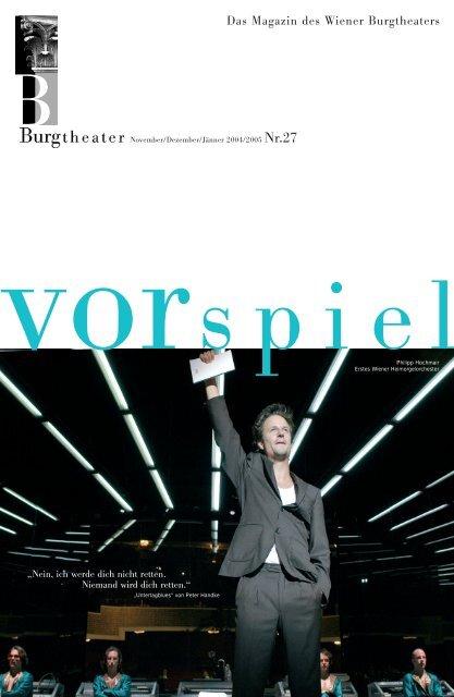 Das Magazin des Wiener Burgtheaters