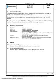 Lieferart BtN 67-1 - Busch-Jaeger Elektro GmbH