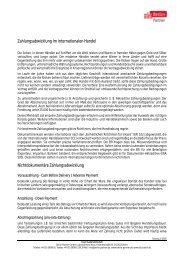 Zahlungsabwicklung im internationalen Handel - Berlin Business ...
