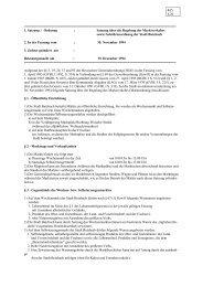 1. Satzung / Ordnung - Stadt Butzbach