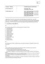 1. Satzung / Ordnung : Friedhofsordnung der - Stadt Butzbach