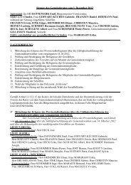 Sitzung des Gemeinderates vom 3. Dezember 2012 Anwesend: die ...
