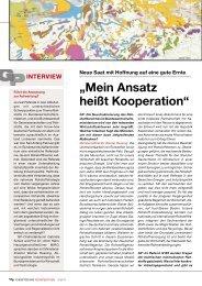 """""""Mein Ansatz heißt Kooperation"""" - MiRo"""