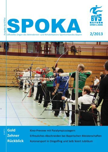 2/2013 - Behinderten- und Versehrten-Sportverband Bayern e.V.