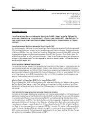 bvv Pressemitteilung - Bundesverband Audiovisuelle Medien
